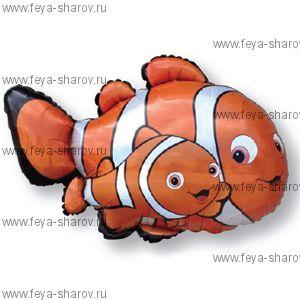 Шар Рыба клоун 86 см