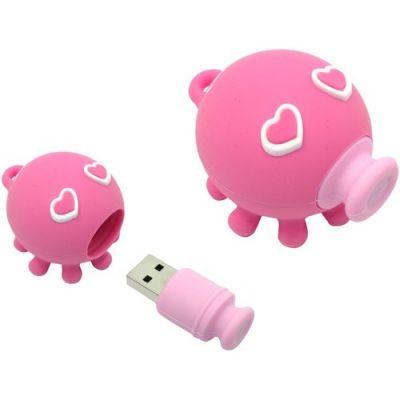 8GB USB2.0-флэш накопитель ADATA Осьминожка T806  розовая