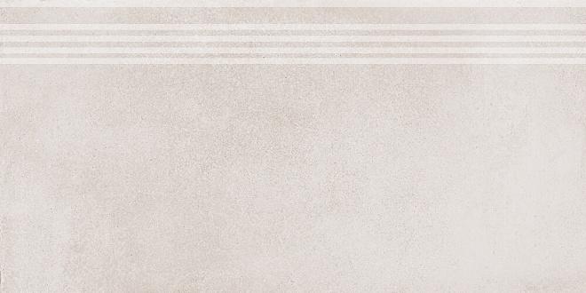 SG227300R/GR | Ступень Мирабо серый светлый обрезной