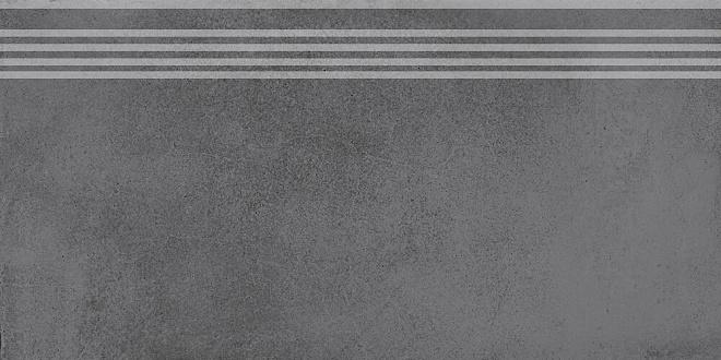 SG227600R/GR | Ступень Мирабо серый темный обрезной