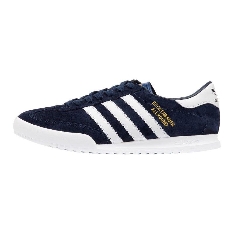 Кроссовки Adidas Beckenbauer Allround синие