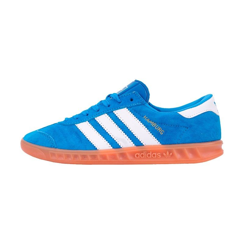 Кроссовки Adidas Hamburg синие