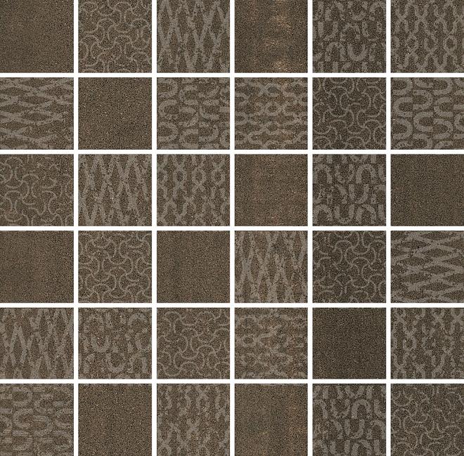 DD2013/MM | Декор Про Дабл коричневый мозаичный