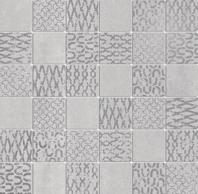 DD2012/MM | Декор Про Дабл серый светлый мозаичный