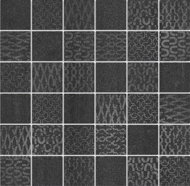 DD2008/MM | Декор Про Дабл черный мозаичный