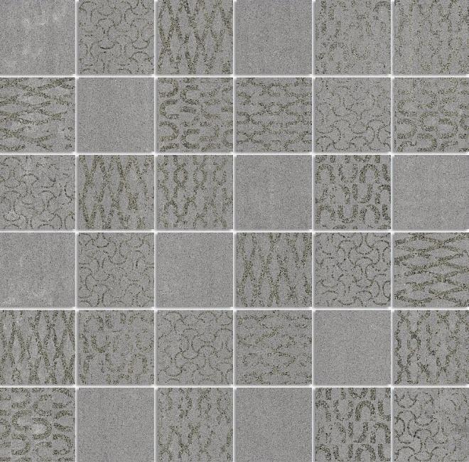 DD2010/MM | Декор Про Дабл серый темный мозаичный