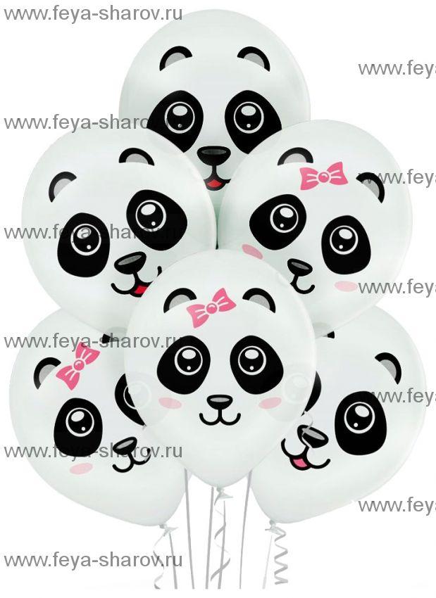 "Шар 14""(34см) Панда"