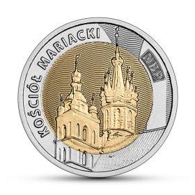 Мариацкий костел 5 злотых Польша 2020