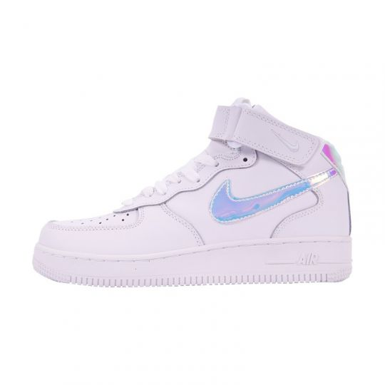 Кроссовки Nike Air Force 1 Mid '07 Leather белые