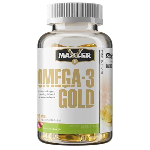 Maxler Omega-3 Gold, 240 кап