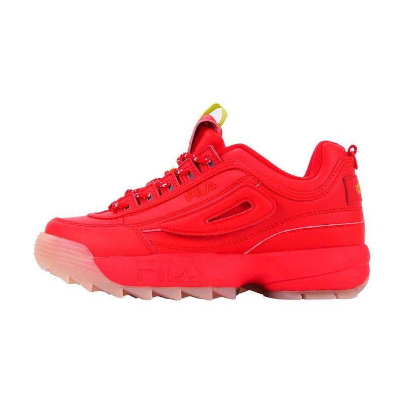 Кроссовки Fila Disruptor 2 красные