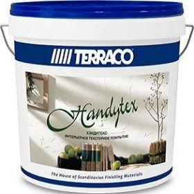 Мастика Готовая Terraco Handytex 15кг для Создания Текстурного Слоя, Интерьерная, Белая /Террако Хендитекс