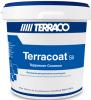 Декоративная Штукатурка Terraco Terracoat BT Sil 25кг с Песчаной Текстурой, Силиконовая для Внутренних и Наружных Работ