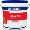 Мастика Готовая Terraco Supertex Exterior 16кг Текстурная, Фасадная, Возможность Машинного Нанесения / Террако Супертекс