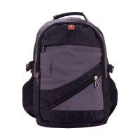 Рюкзак Swissgear серо-черный