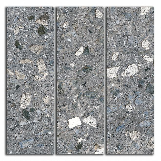 SG184/004 | Декор Терраццо серый темный мозаичный