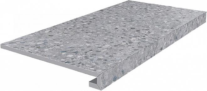 SG632600R/GCF | Ступень клееная Терраццо серый