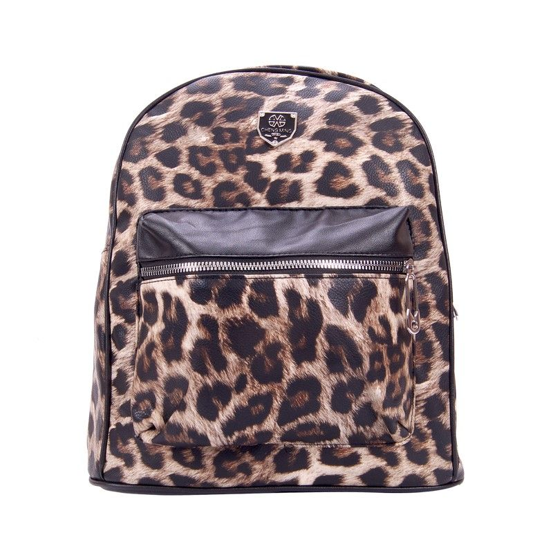 Рюкзак женский леопардовый