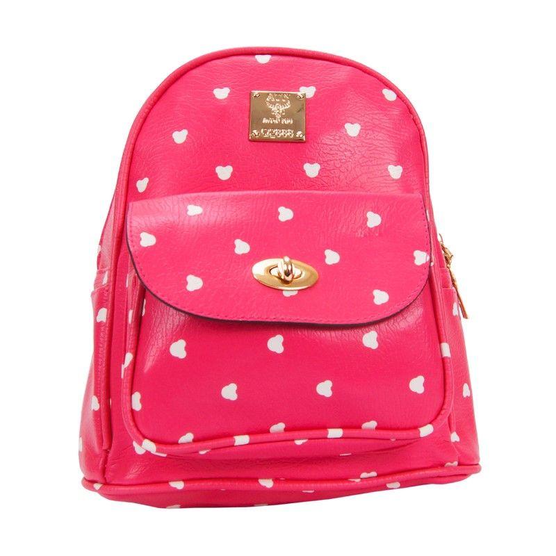 Рюкзак женский розовый