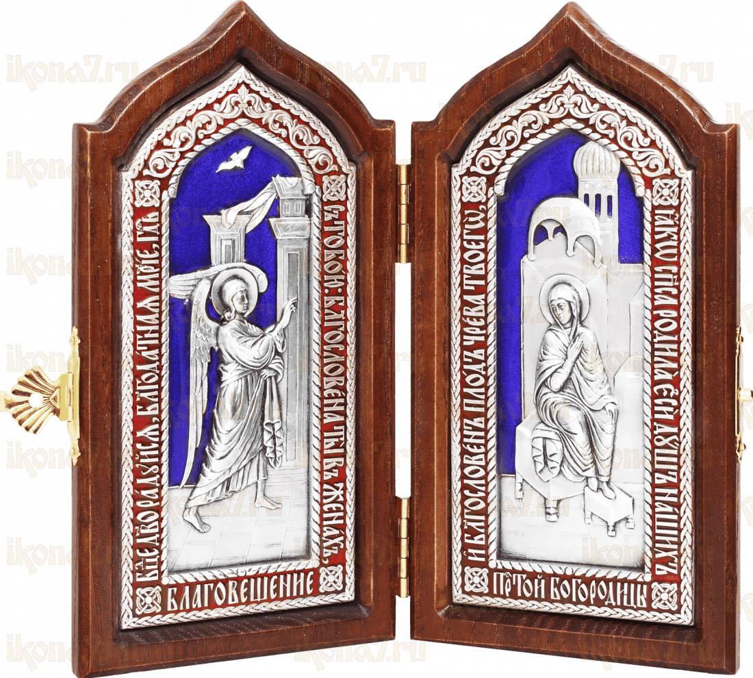 Складень - Благовещение Пресвятой Богородицы