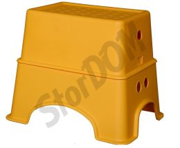 Табурет-подставка желтый