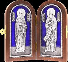 Складень - учители словенские Кирилл и Мефодий