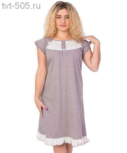 Сорочка 136 трикотажная для сна и отдыха