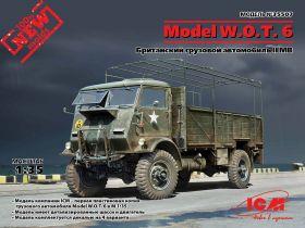 Model W.O.T. 6, Британский грузовой автомобиль ІІ МВ