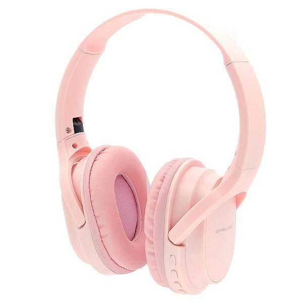 Орбита OT-ERB44 Розовые наушники большие - гарнитура (Bluetooth)