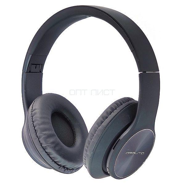 Орбита OT-ERB43 Черные наушники большие - гарнитура (Bluetooth)