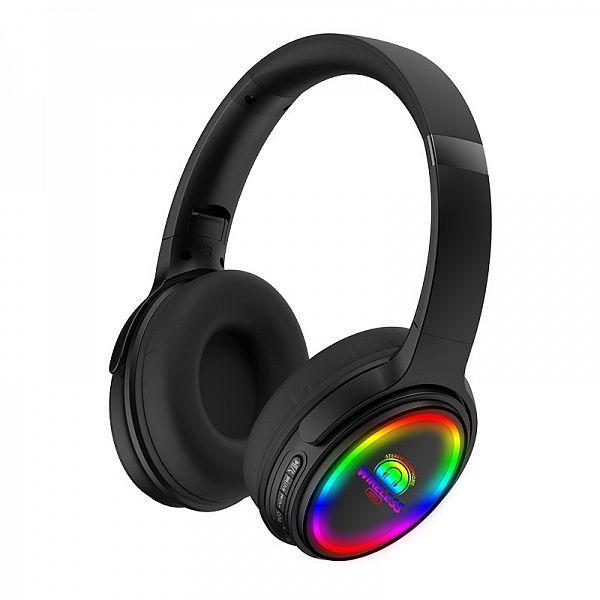 KADUM KD71 Черные наушники большие - гарнитура (Bluetooth)