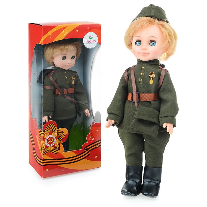 Кукла Пехотинец Весна