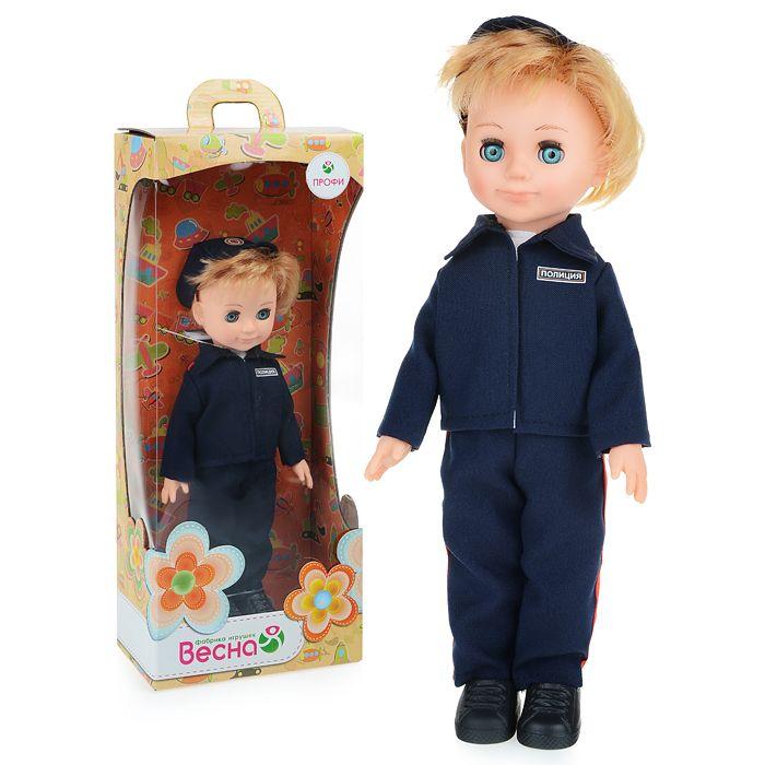 Кукла Полицейский мальчик Весна