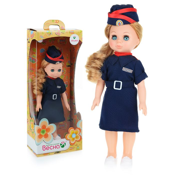 Кукла Полицейский девочка Весна