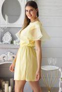 короткое платье из хлопка