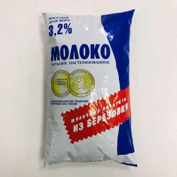 Молоко 3,2% п/п 1л. Березовка