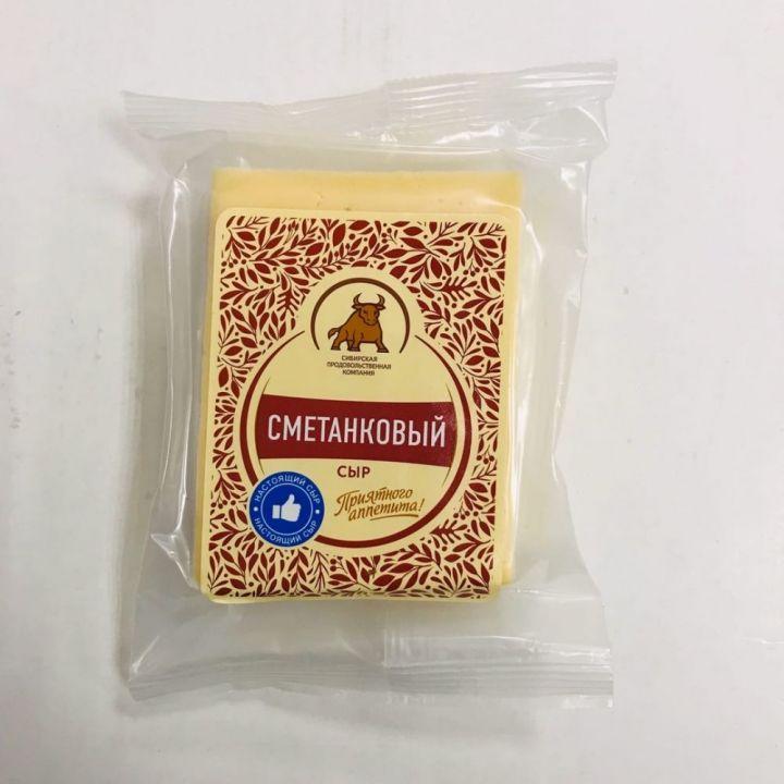 Сыр Сметанковый 50% 200г СПК