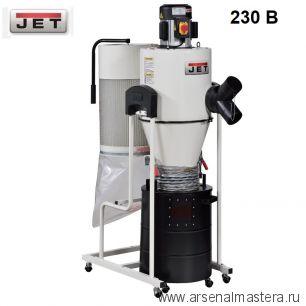 Вытяжная установка циклон / стружкоотсос профессиональный 1,5 кВт 230 В JET JCDC-1.5 717515M