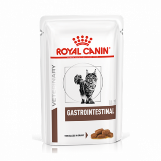 Влажный ветеринарный корм для кошек Royal Canin Gastrointestinal Felin (Гастроинтестинал пауч) 85г.