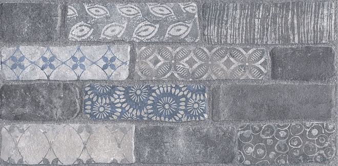 SG250900R | Кампалто серый декорированный обрезной