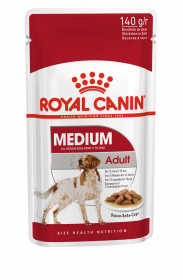 Влажный корм для собак Royal Canin Medium Adult (Медиум Эдалт в соусе)140г.