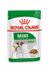 Влажный корм для собак Royal Canin Mini Adult (Мини Эдалт в соусе) 85г.