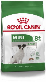 Сухой корм для собак мелких размеров Royal Canin Mini Adult 8+ (Мини Эдалт 8+)