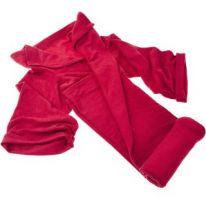 Одеяло-плед с рукавами Snuggle (Снагги), красный