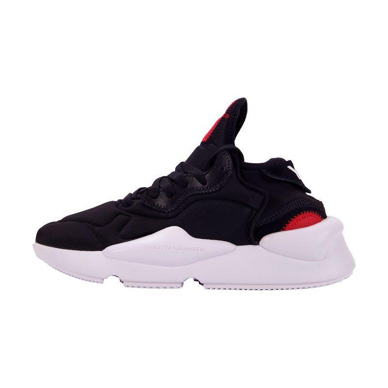 Кроссовки Adidas Y-3 Kaiwa Yohji Yamamoto черно-белые