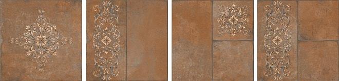 SG926400N   Каменный остров коричневый декорированный