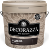 Декоративная Штукатурка Decorazza Velours 1.2кг Эффект Бархата / Декоразза Велюр