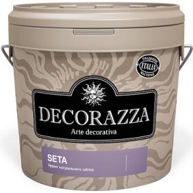 Декоративная Штукатурка Decorazza Seta 5кг Эффект Натурального Шёлка
