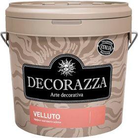 Декоративная Штукатурка Decorazza Velluto 5кг Эффект Матового Шёлка
