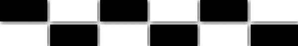 072   Бордюр Гармония мозаичный черно-белый